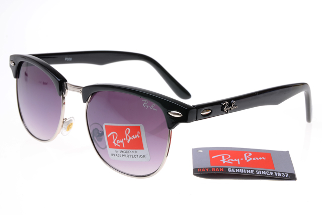 Ban clubmaster 3016 black frame gray lens rb1331 [rb