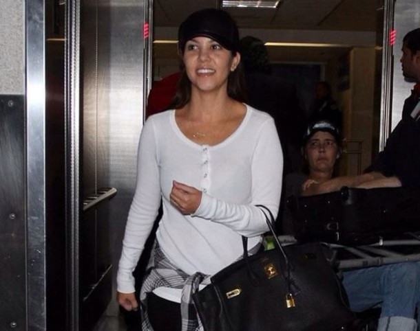 sweater white jumper kourtney kardashian