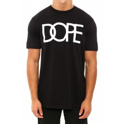 Dope Couture Flocked Logo Tee Black/White | Culture Kings Online Store