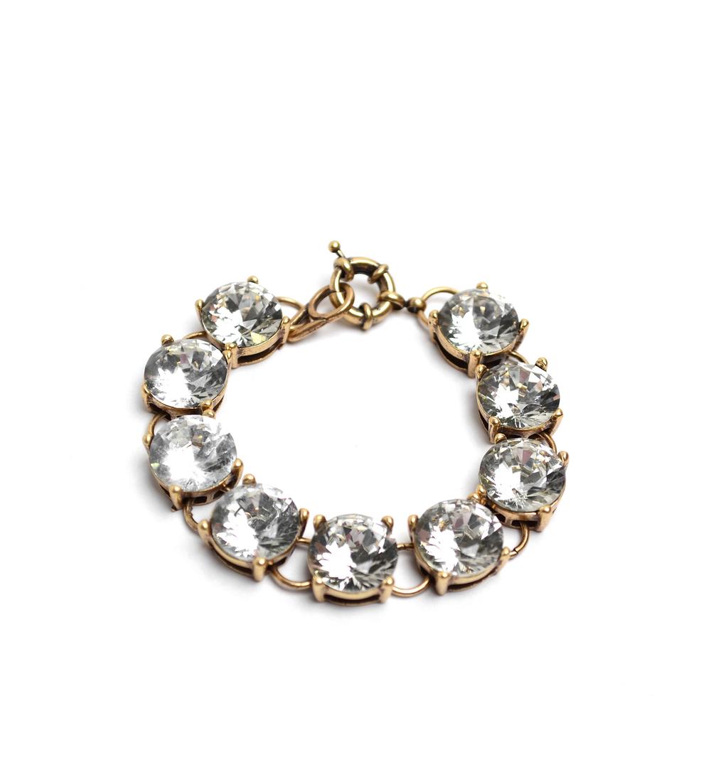 Antique Bling Crystal Bracelet
