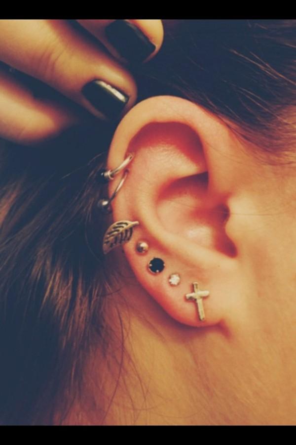 jewels gold black leaves gold leaf leaf earrings leaf earring earrings cross earring cross cross jewelry gold earrings silver earrings silver jewelry gold jewelry