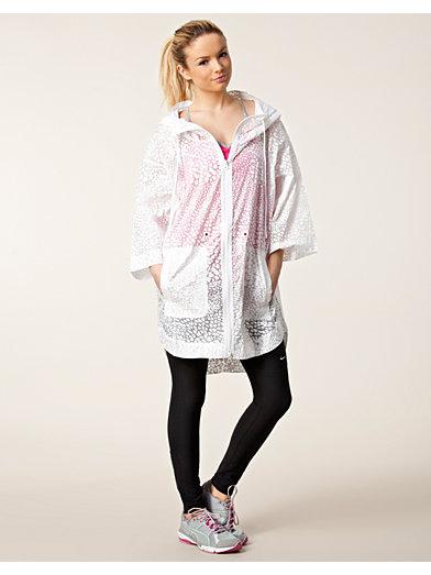Stu Parka Print - Adidas By Stella Mccartney - Hvit - Jakker - Sportsklær - Kvinne - Nelly.com