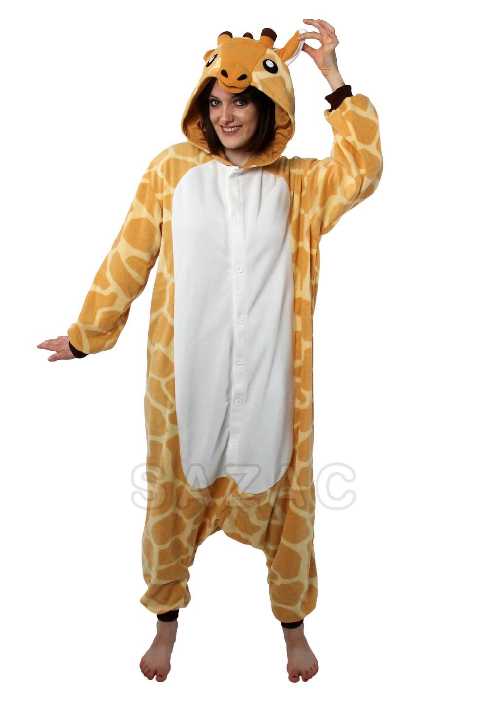 Kigurumi Shop | Giraffe Kigurumi - Animal Onesies & Animal Pajamas by Sazac