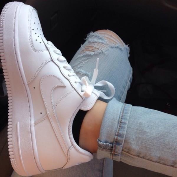 Nike Air Force 1 On Feet Women