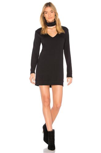 dress sweater dress black