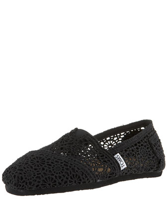 TOMS Crocheted Slip-On - Bergdorf Goodman