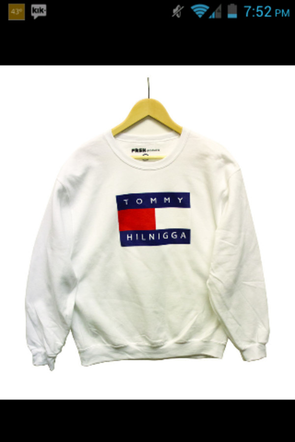 tommy hilfiger logo sweater. Black Bedroom Furniture Sets. Home Design Ideas