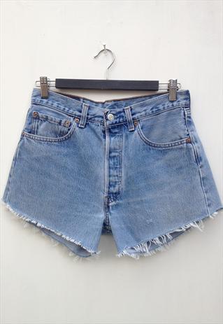Vintage Levi's 501 Light Wash Denim Shorts | eaststreetvintage | ASOS Marketplace