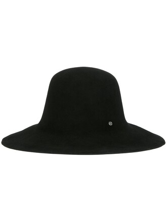 women embellished hat fedora black