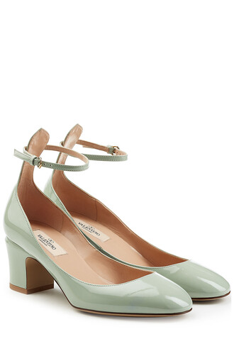 tan pumps leather turquoise shoes