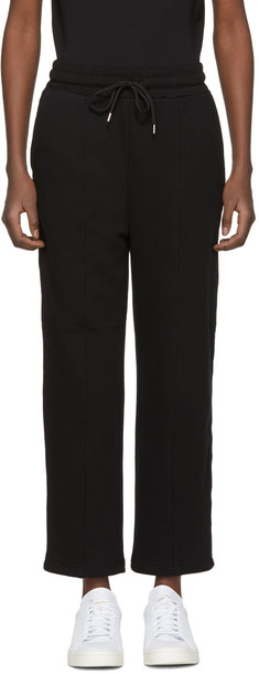 McQ Alexander McQueen pants black pink black and pink