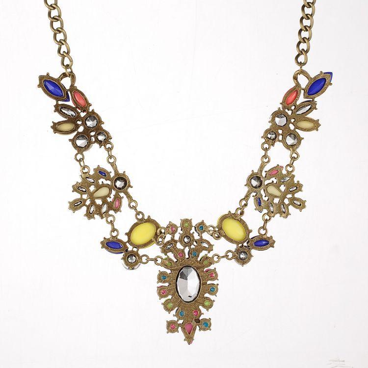 Fashion Metal Necklace_Necklace_Jewellery_Cheap Clothes,Cheap Shoes Online,Wholesale Shoes,Clothing On lovelywholesale.com - LovelyWholesale.com