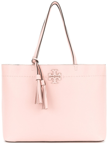 Tory Burch women bag tote bag leather purple pink
