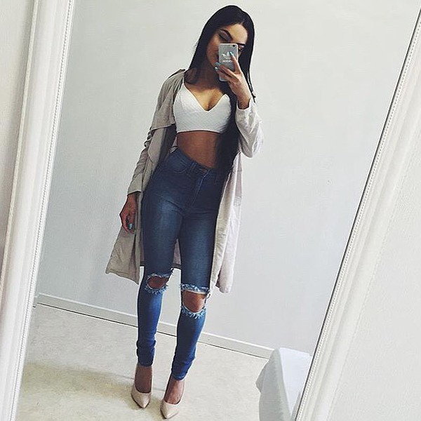 gorgeous school outfits with jeans tumblr 2017