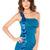 Gorgeous One Shoulder Sashes Mini Sheath Dress : KissChic.com