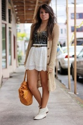 skirt,lace,white