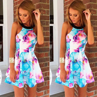 dress floral sleeveless off shoulder print dress floral dress sleeveless black collar fashion girl print off shoulder