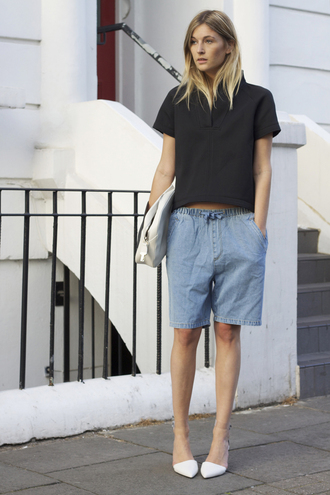 camille over the rainbow t-shirt shorts shoes bag bermuda