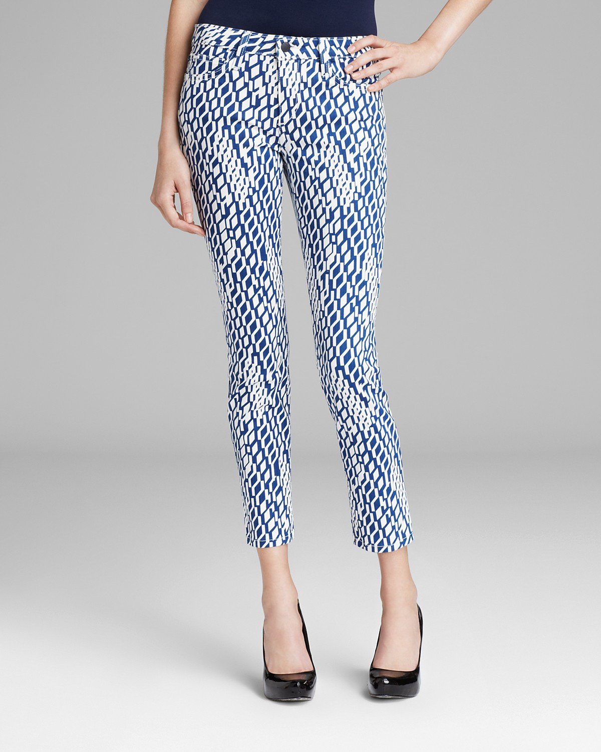 Joe's Jeans - High Water Skinny in Geometric | Bloomingdale's