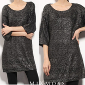 sweater,dress,black dress,knitwear