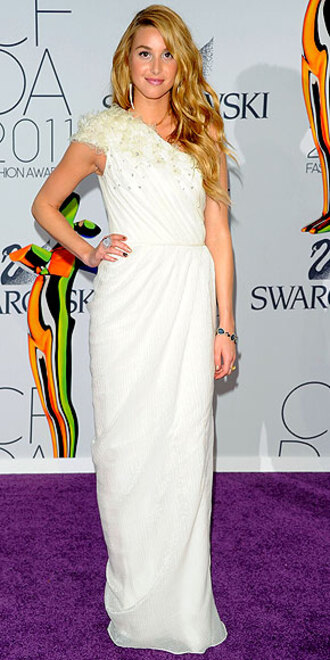white dress whitney port