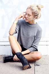 cheyenne meets chanel,sweater,tank top,shorts,jewels,shoes