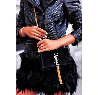 skirt feathers black skirt texture