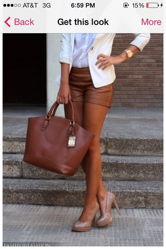 shoes shorts leather caramel rusty brown stylish classy stay classy cute must haves