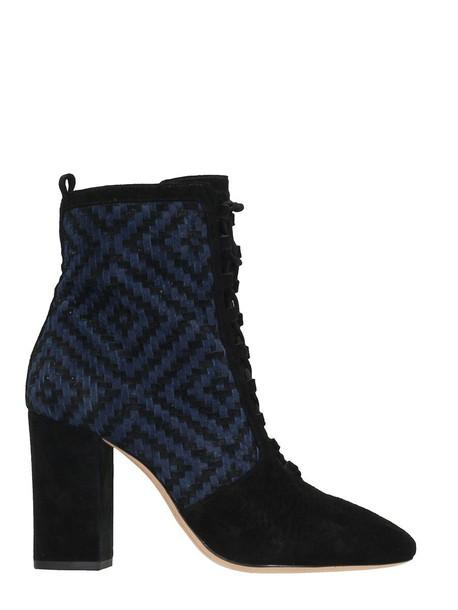Alexandre Birman ankle boots lace black shoes