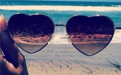 Vintage Retro Fashion Lolita Heart Shaped Metal Frame Women Love Sexy Sunglasses | eBay