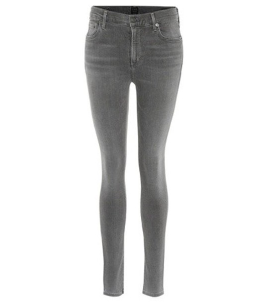 CITIZENS OF HUMANITY jeans skinny jeans high grey