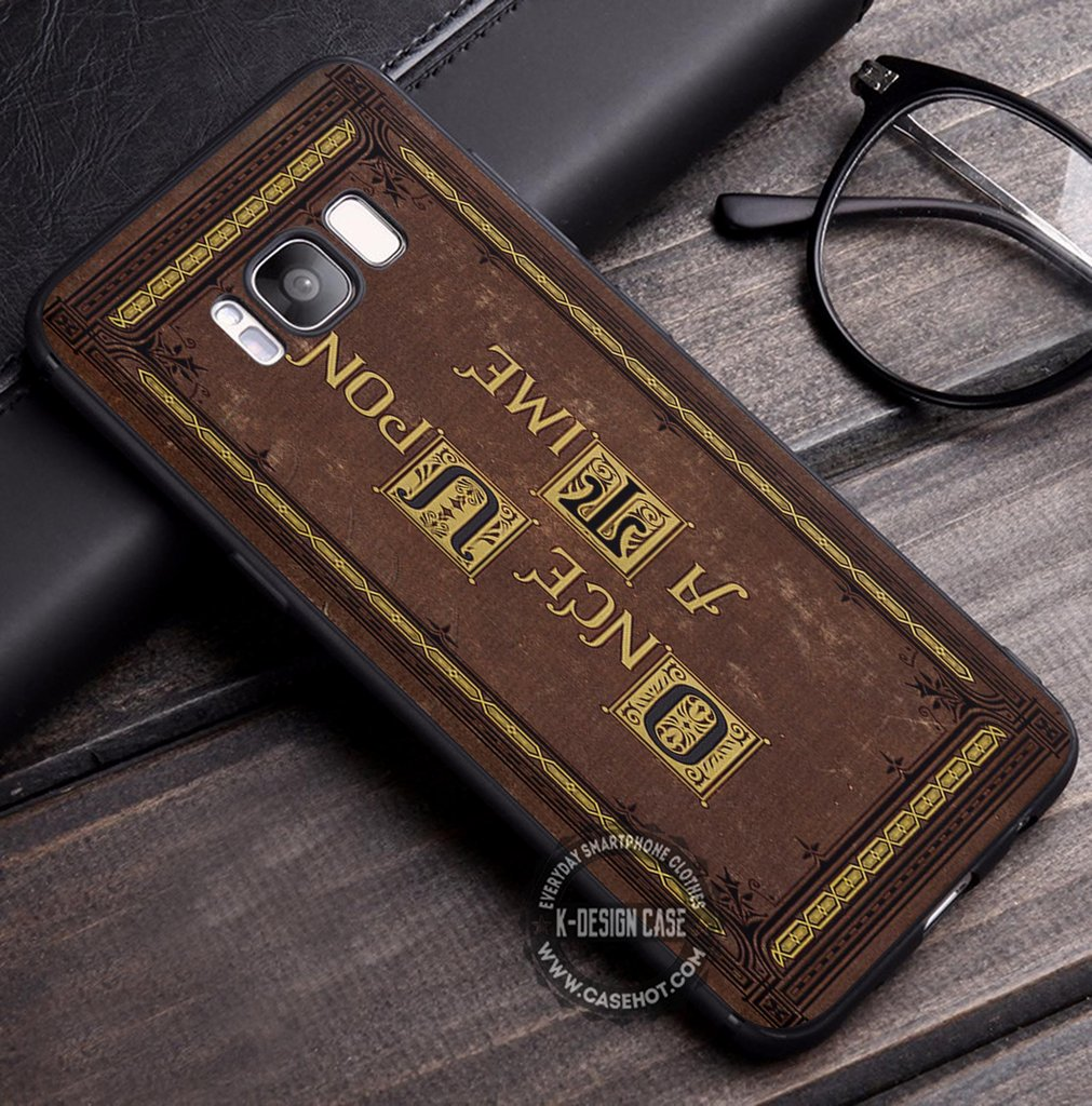 Once Upon a Time Book iPhone X 8 7 Plus 6s Cases Samsung Galaxy S8 Plus S7 edge NOTE 8 Covers #iphoneX #SamsungS8