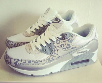 shoes white grey air max nike leopard print leopard print nike airmax nike nike free run trainers running shoes sportswear athletic blouse