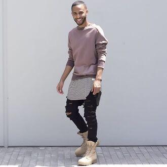 jeans maniere de voir ripped pants streetstyle