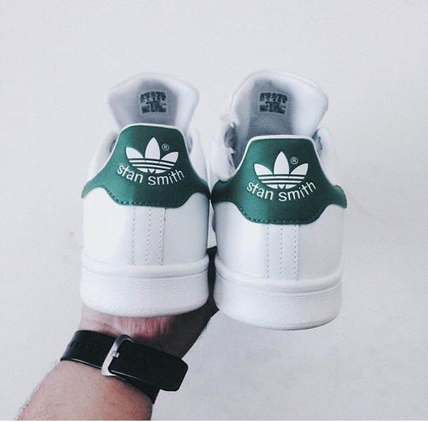 shoes stan smith green original