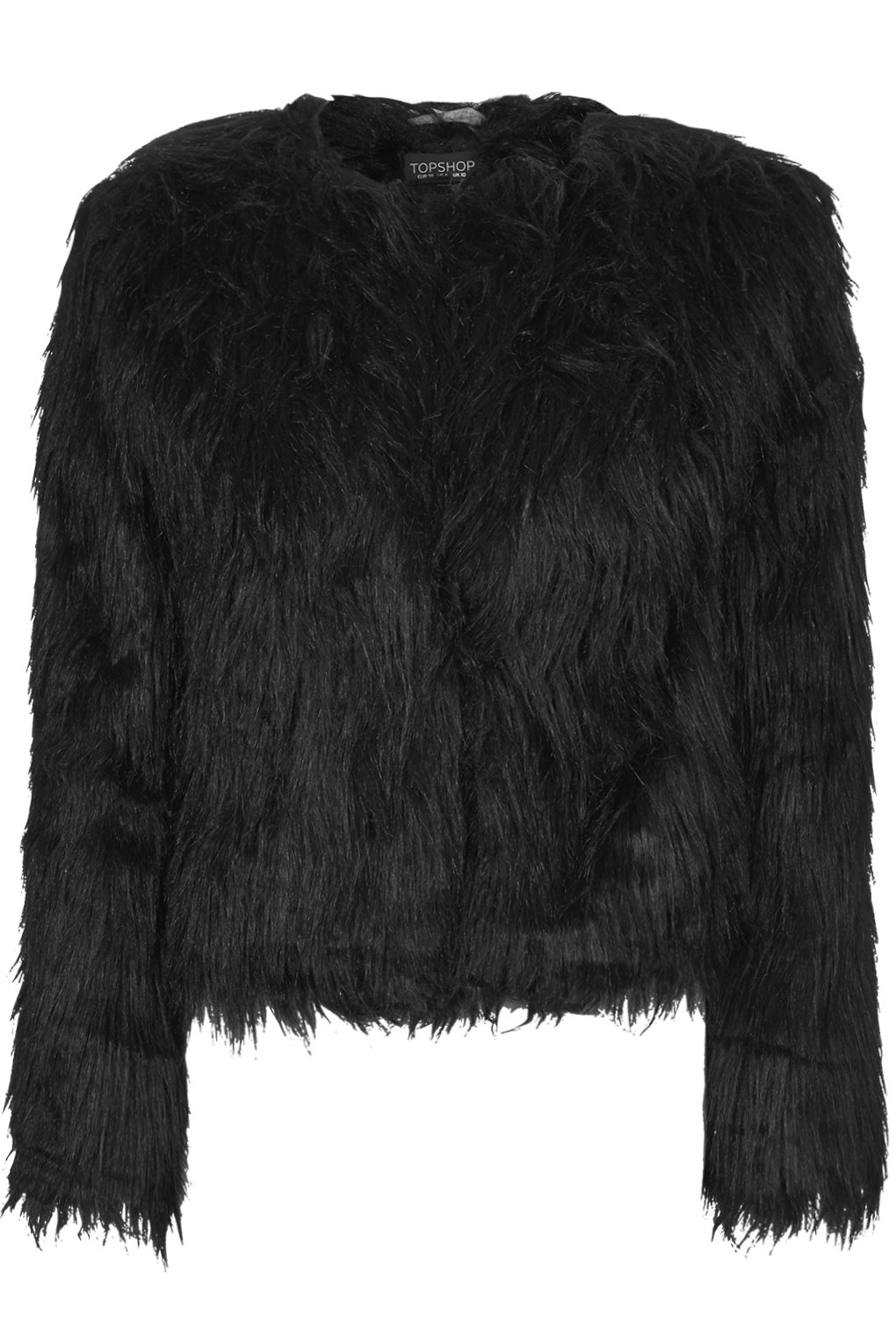 Faux shearling fur jacket