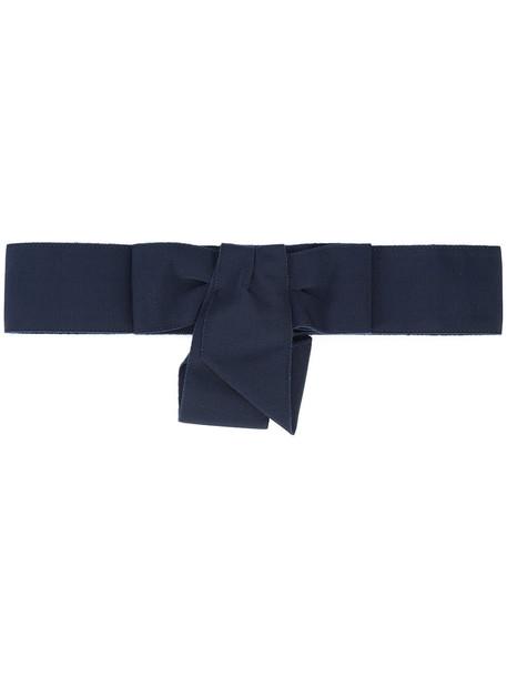 bow belt blue