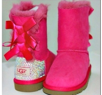 boots ugg boots crystal quartz bling fur fur boots bling shoes
