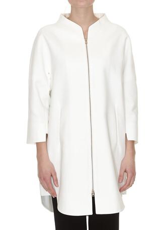 coat classic white