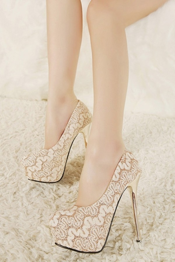 shoes persunmall heels lace heels lace