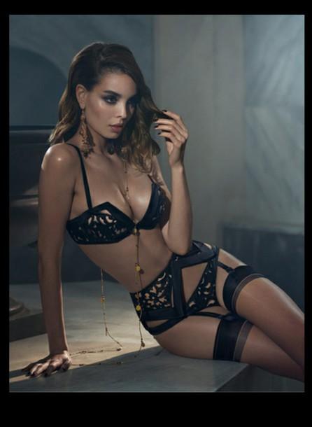 underwear black lingerie lingerie lingerie set
