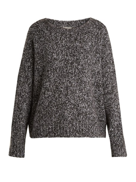 Vince sweater wool knit black grey