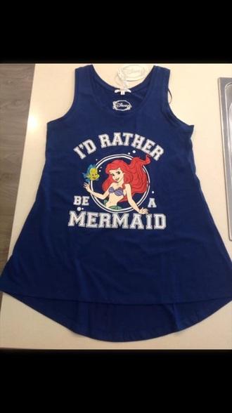 shirt the little mermaid