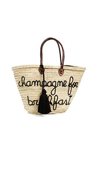 Soeur Du Maroc champagne black bag