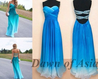 blue dress blue sparkly dress sparkly bling sweetheart dresses prom dress formal dress cut-out dress cut-out