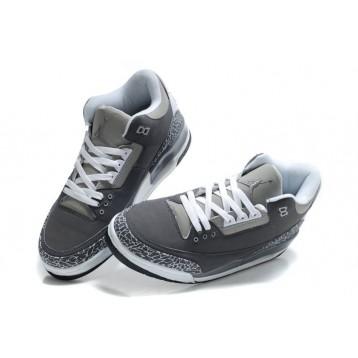 Air Jordan 3 (III) Wolf Grey/White Cement - Air Jordan 3 (III) - Nike Shoes Kobe NBA