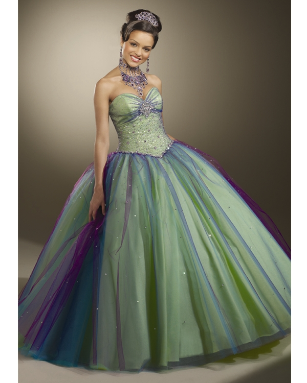 Ball Gown Strapless and Sweetheart Bandage Floor Length ...