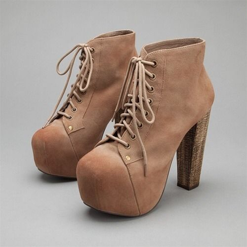 jeffrey campbell taupe suede lita boots nwb sz 38 5. Black Bedroom Furniture Sets. Home Design Ideas