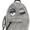 Flirting eyes glitter mini backpack