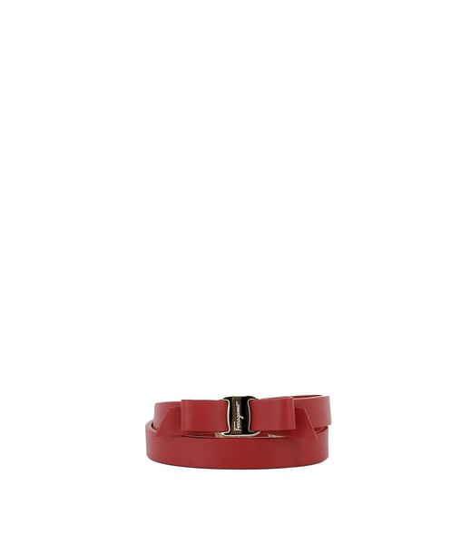 leather red jewels